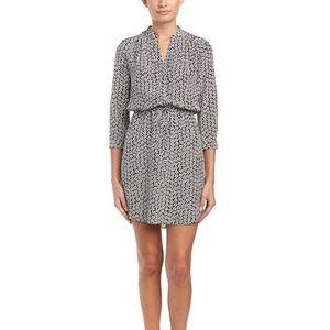 Diane Von Furstenberg Freya Silk Shirtdress Size 6